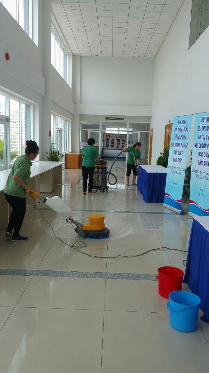 vệ sinh công trình TPHCM