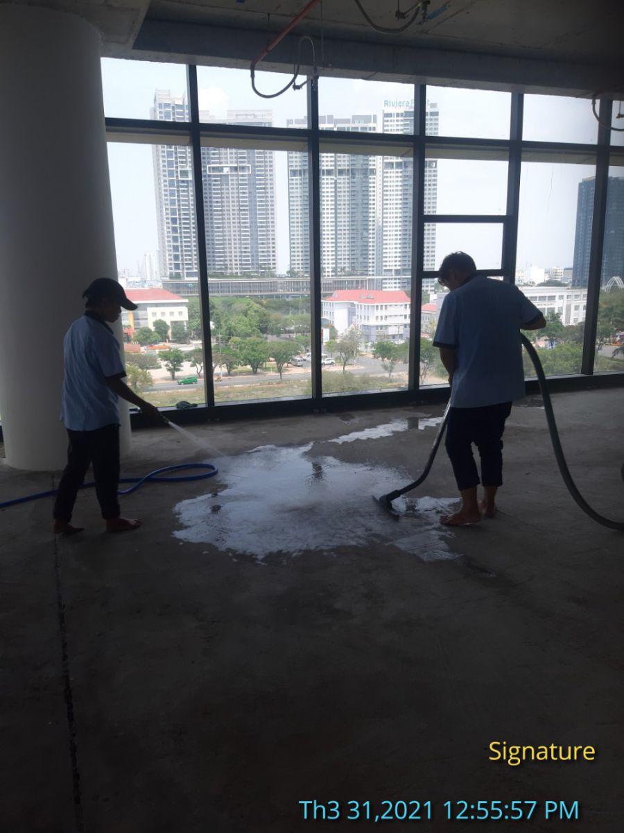 Chuyên vệ sinh tòa nhà văn phòng