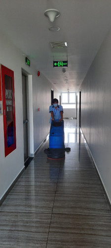 công ty vệ sinh trường học