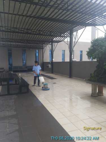 dịch vụ vệ sinh nhà xưởng sau xây dựng