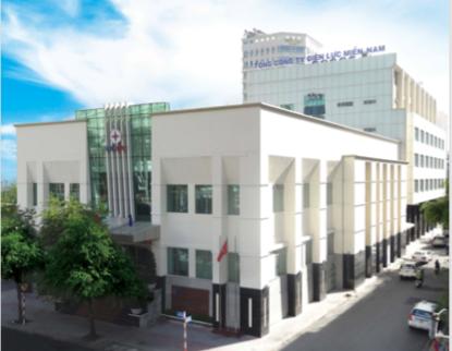 Tòa nhà tổng công ty điện Lực Miền Nam