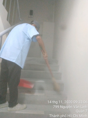 vệ sinh công nghiệp chung cư