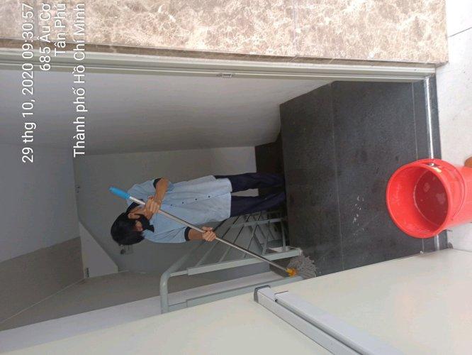 vệ sinh công nghiệp nhà ở