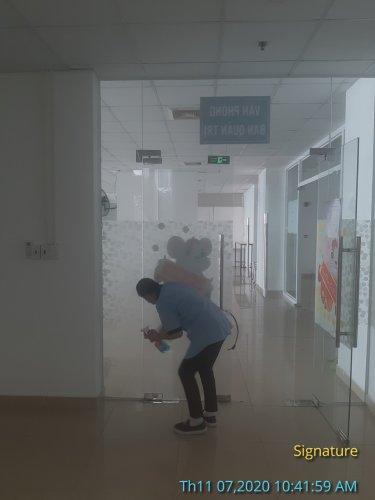 vệ sinh công nghiệp Sài Gòn