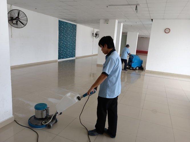 vệ sinh công nghiệp sau xây dựng tphcm