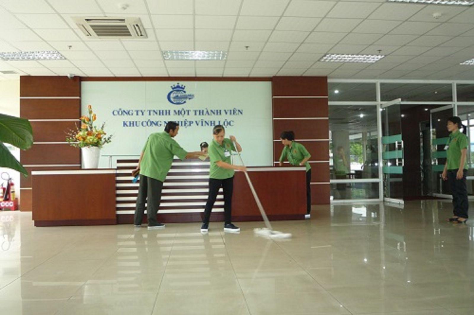 giá vệ sinh công nghiệp TPHCM