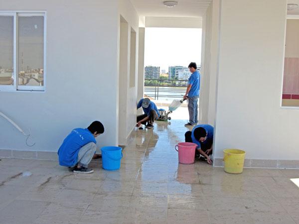 công ty vệ sinh công nghiệp tại TPHCM