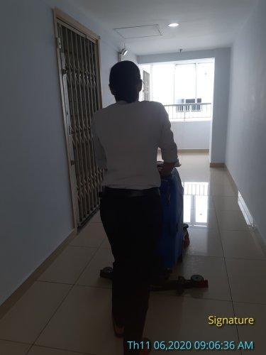 vệ sinh công ty