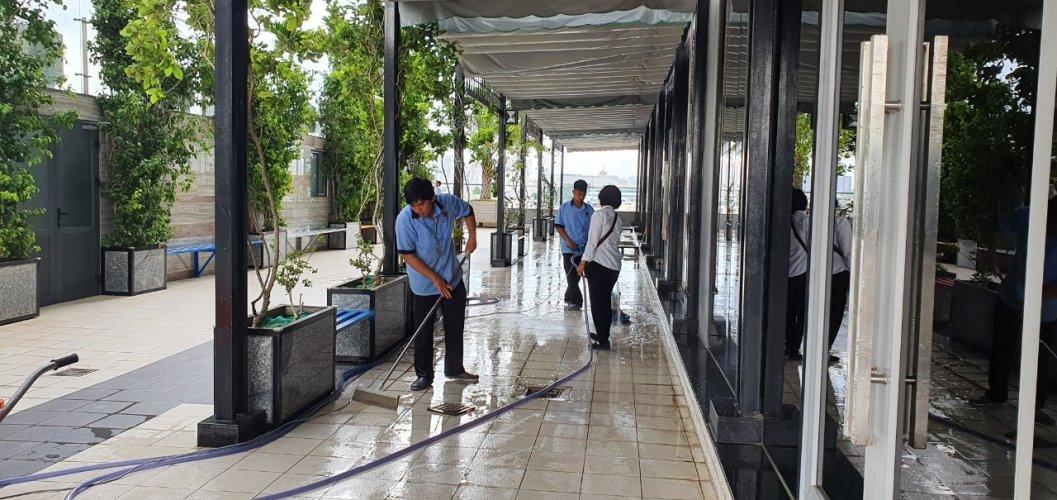 vệ sinh môi trường bệnh viện