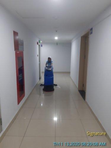 vệ sinh trung tâm thương mại